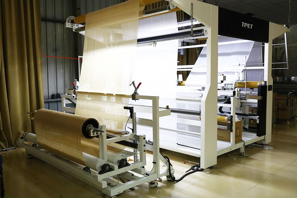 Máquina de dobladillo automático